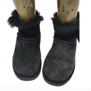 Mid UGG Black Boots Size: US 5